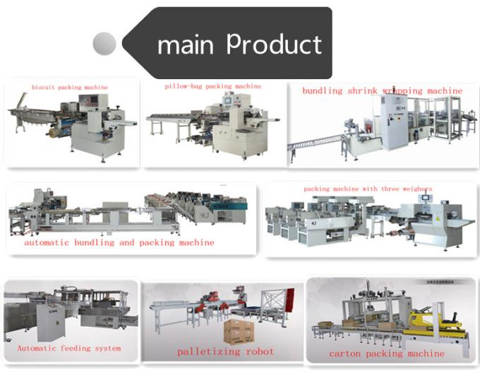 High Speed Bundling and pillow Packing Machine for chinese Noodle stainless material with five lines