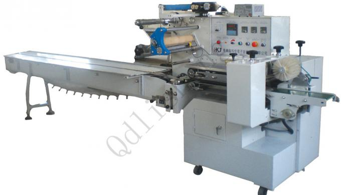 Horizontal Snack Food Packaging Machine For Ice Cream Bar / Quick Frozen Food