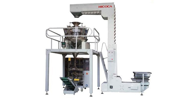 Multi Heads Weighers Chocolate, Bread, Nuts, Candy, Potato Clips Packaging Machine