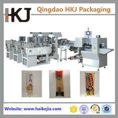 Long Pasta Automatic Weighing And Bagging Machine With 3 Lines High Speed
