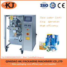 China Hkj-320 Snacks Packing Machine , Coffee Packaging Equipment With Filling supplier