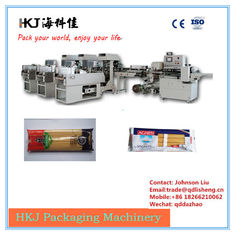 China Long Pasta Pouch Filling And Packing Machine , Pasta Factory Equipment HKJ166 supplier