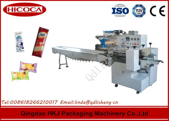 China Horizontal Snack Food Packaging Machine For Ice Cream Bar / Quick Frozen Food supplier