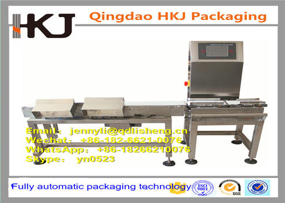 China Professional Horizontal Check Weigher Machine / Online Weigher Machine OEM Available supplier