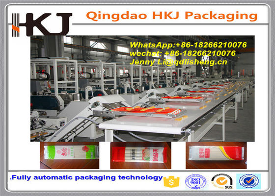 China High Speed Bundling and pillow Packing Machine for chinese Noodle stainless material with five lines supplier