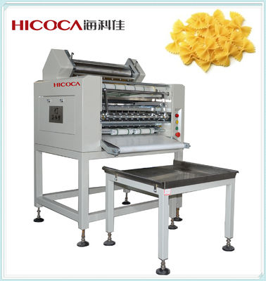 China Automatic Farfalle / Flour Making Machine Three Servo Motor For Various Shapes supplier