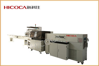 China Heat Shrinkable Film Vegetable, Food, Books  Packaging Machine With PLC Touch Screen supplier