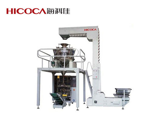 China Multi Heads Weighers Chocolate, Bread, Nuts, Candy, Potato Clips Packaging Machine supplier
