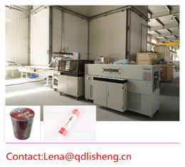 China Automatic Snack Food Packaging Machine Reciprocating Wrapping And Shrinking supplier