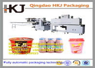 China Full Automatic Instant Noodle Packaging Machine With Wrapping And Shrinking Function company