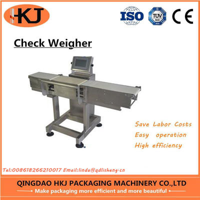 China High Accuracy Weight Check Machine , Inline Check Weighing Systems Easy Operate factory