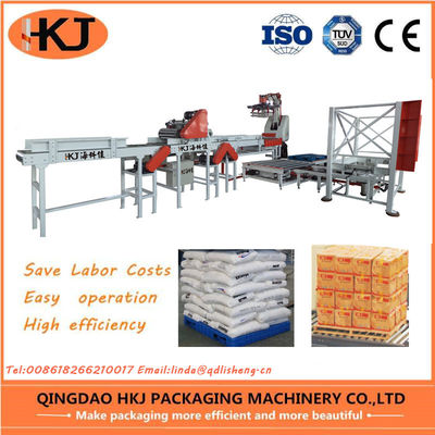 China Labor Saving Box Palletizing Robot / Pick And Place Packaging Robots One Year Warranty factory