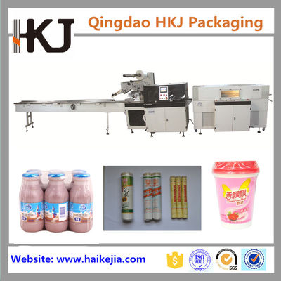 China 1.5kw Instant Noodle Packaging Machine With Omron PLC And Touch Screen distributor