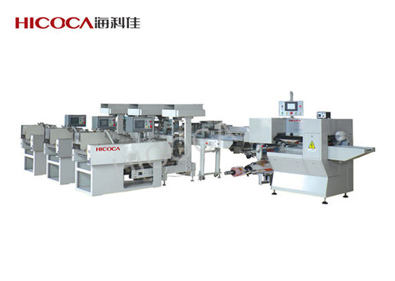 China Automatic Multi - Weighers Spaghetti / Pasta / Noodles Packing Machine distributor