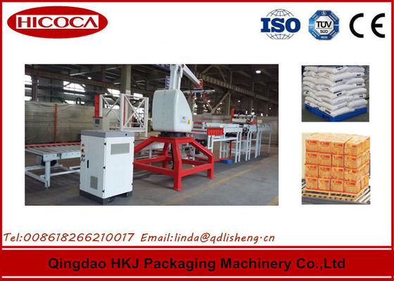 China 6.5Kw Box Palletizing Robot For Noodle Carton Packing Line Multi Functional distributor