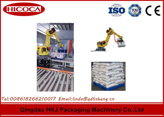 China Automated Spaghetti Box Palletizing Robot / robotic packaging systems SGS Certificate factory