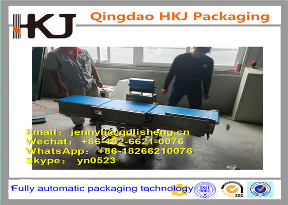 China PLC Control Check Weigher Machine For Food Industry High Precison Accuracy distributor