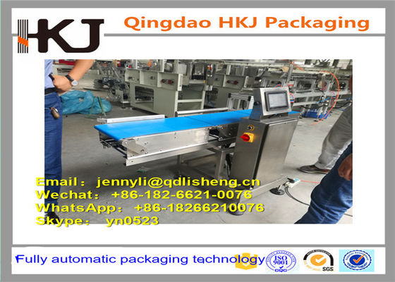 China Food Package Check Weigher Machine With Touch Screen Customized Size distributor