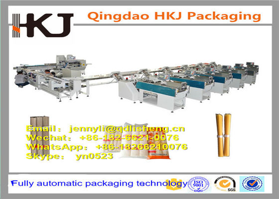 China Multi Function Pillow Bag Packaging Machine For Food Stainless Steel Material distributor