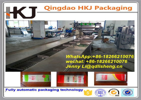 China Multipack Flow Pack Packaging Machine , Instant Noodle Production Line 1.5kw distributor