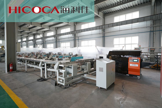 China Touch Screen Noodles Packing Machine M - Shape Packaging Long Operating Life factory