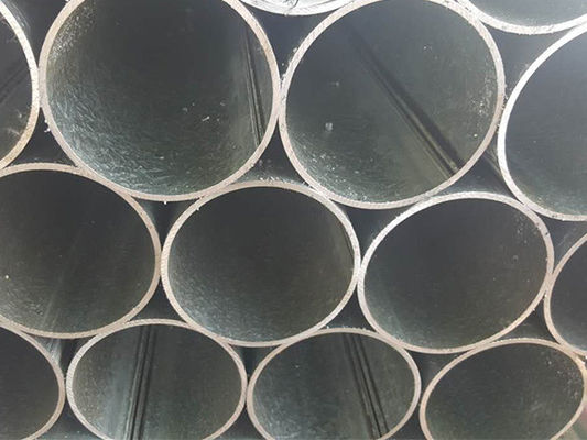 China ASTM A53 Galvanized Steel Pipe / Precision Seamless Pipe Bundle Packing With PP distributor