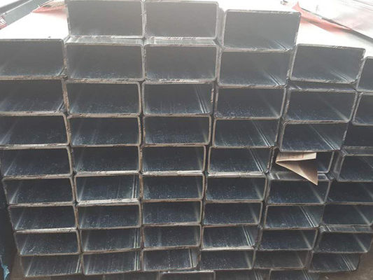 China Welded Precision Seamless Steel Pipe / Hollow Rectangular Steel Pipe For Fitness Equipment distributor