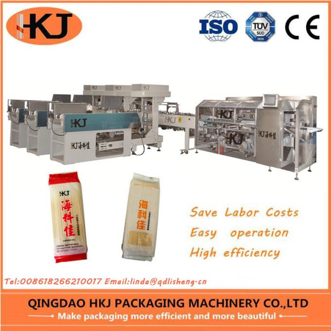 2019 New Design Rice Noodle Machine For Spaghetti Packing With Three Weighers